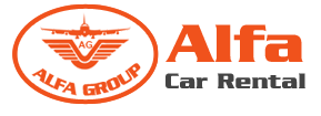 alfa car rental logo